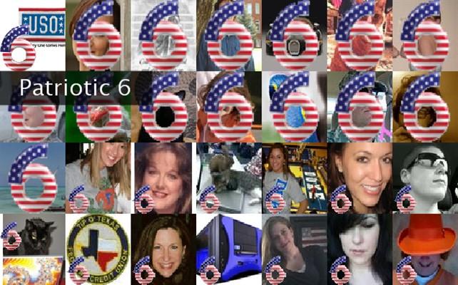 Patriotic 6 Twibute 50