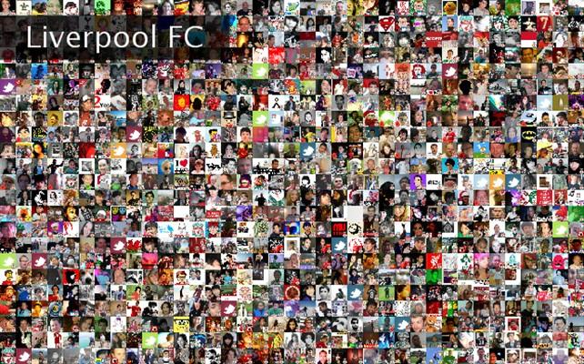 Liverpool FC Twibute 1000
