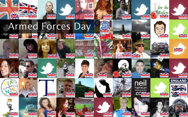 Armed Forces Day Twibute 500