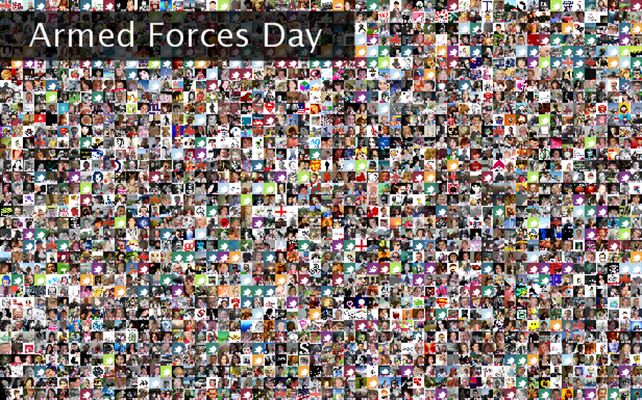Armed Forces Day Twibute 15000