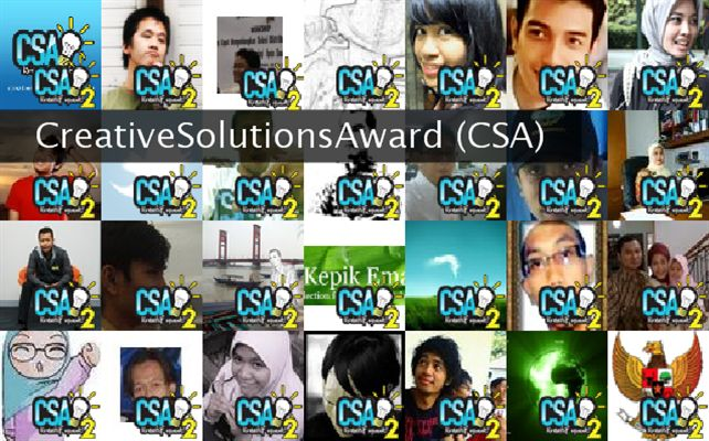 CreativeSolutionsAward (CSA) Twibute 50