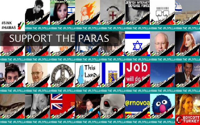 SUPPORT THE PARAS Twibute 50