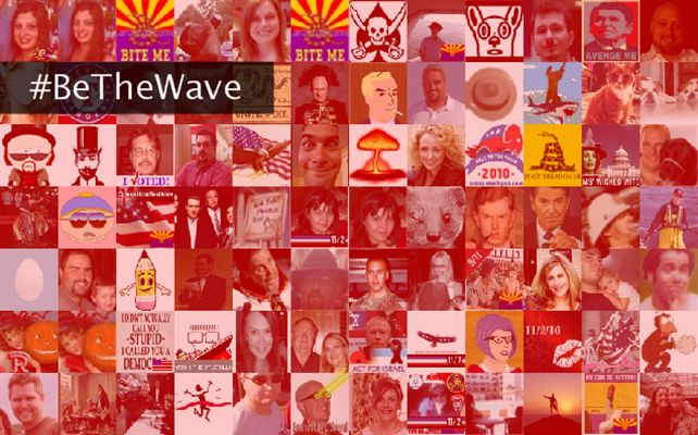 #BeTheWave Twibute 100