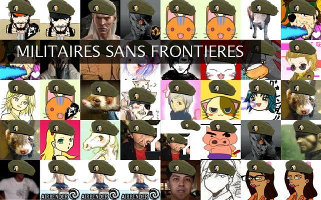 MILITAIRES SANS FRONTIERES Twibute 50