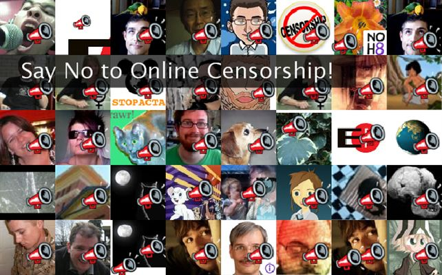 Say No to Online Censorship! Twibute 50