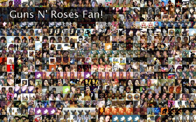 guns n roses fan page