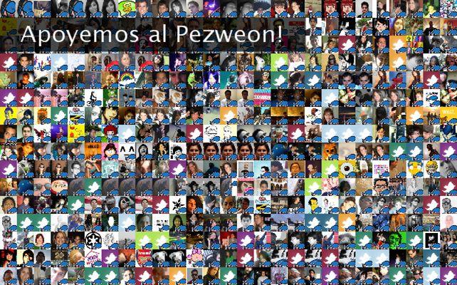 Apoyemos al Pezweon! Twibute 500