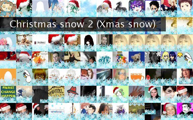 Christmas snow 2 (Xmas snow) Twibute 100