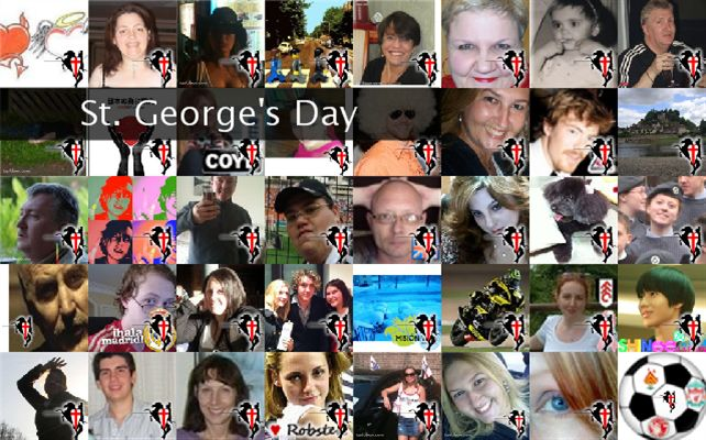 St. George&#39;s Day Twibute 50