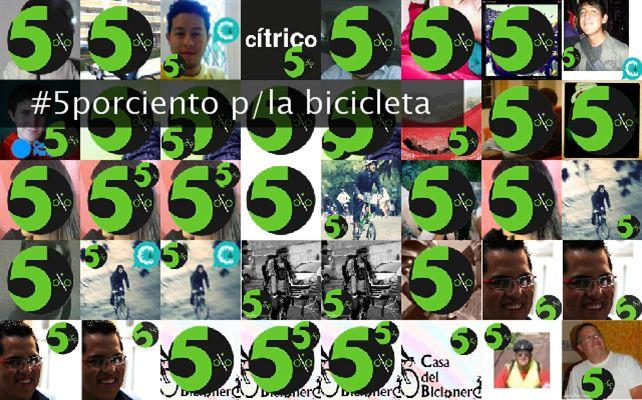 #5porciento p/la bicicleta Twibute 50