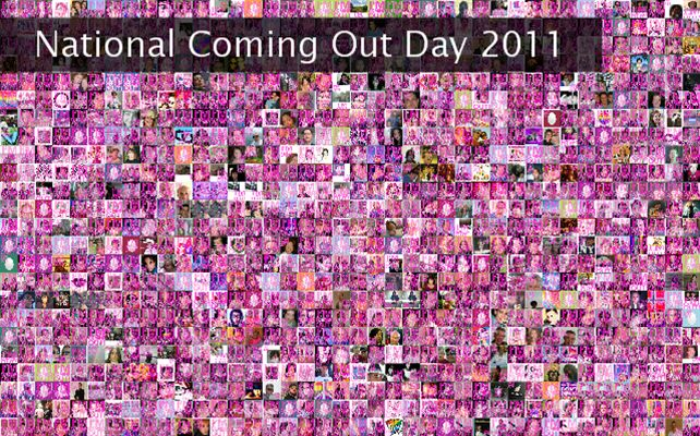 National Coming Out Day 2011 Twibute 1000