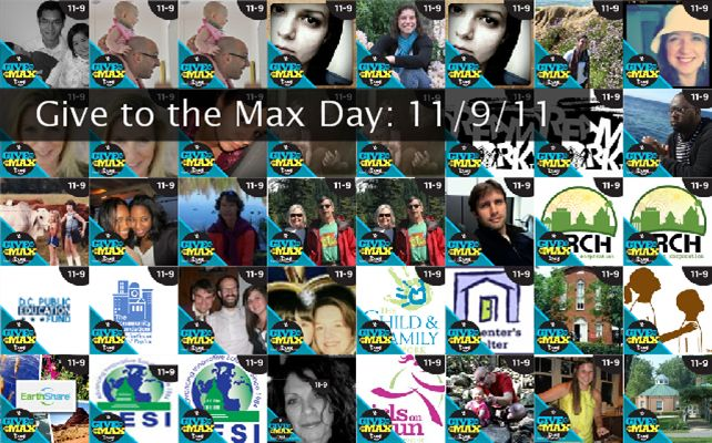 Give to the Max Day: 11/9/11 Twibute 50
