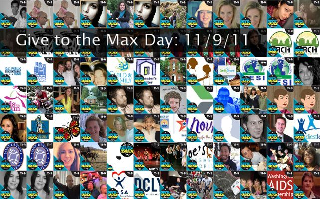 Give to the Max Day: 11/9/11 Twibute 100