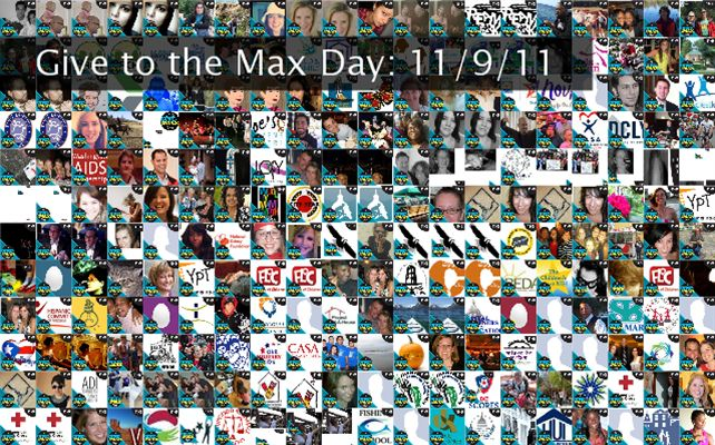 Give to the Max Day: 11/9/11 Twibute 250