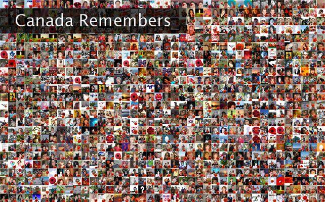 Canada Remembers Twibute 1000