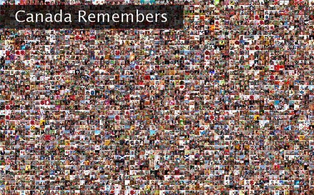Canada Remembers Twibute 2500