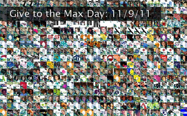 Give to the Max Day: 11/9/11 Twibute 500