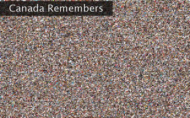 Canada Remembers Twibute 15000