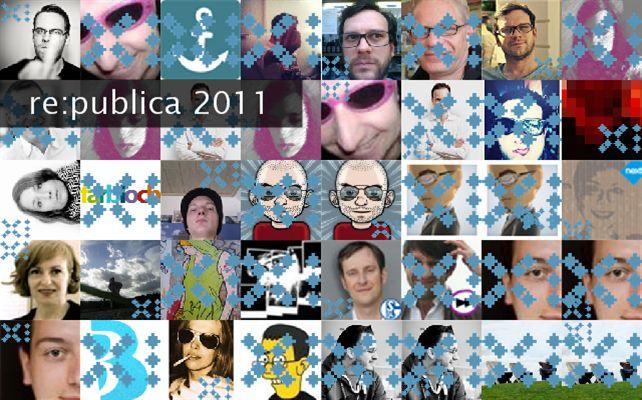 re:publica 2011 Twibute 50