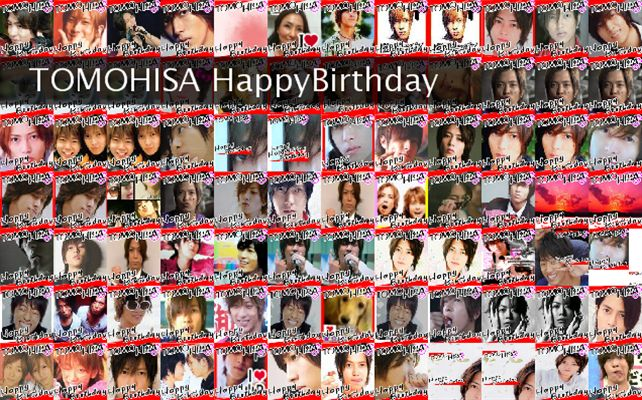 TOMOHISA HappyBirthday Twibute 100