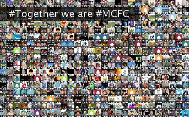 #Together we are #MCFC Twibute 500