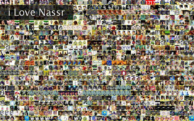 i Love Nassr Twibute 1000
