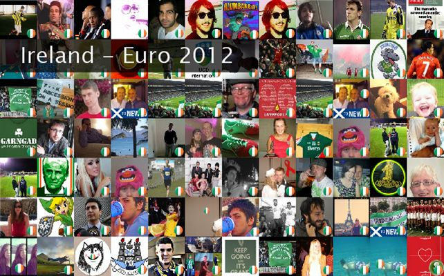 Ireland - Euro 2012 Twibute 100