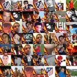 Del @Atleti y con la Roja Twibute 50