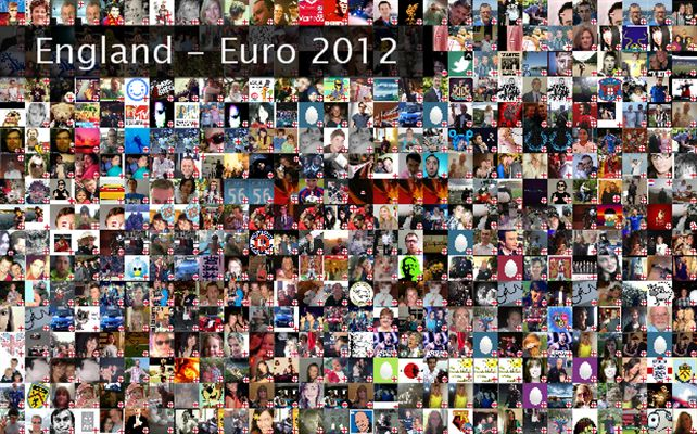 England - Euro 2012 Twibute 500