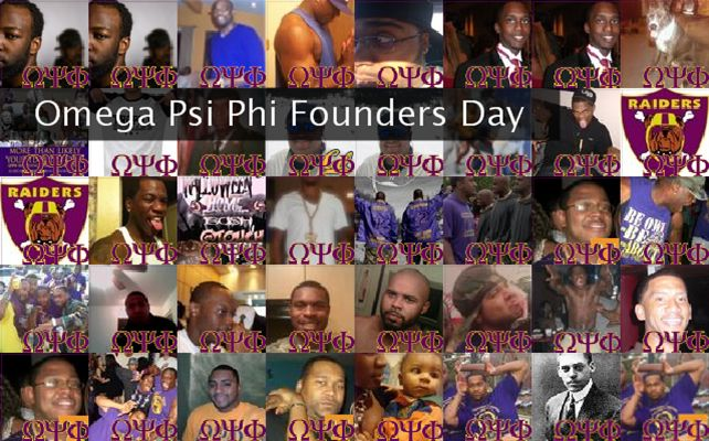 Omega Psi Phi Founders Day Twibute 50