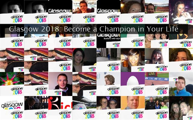 Glasgow 2018: Become a Champion in Your Life Twibute 50