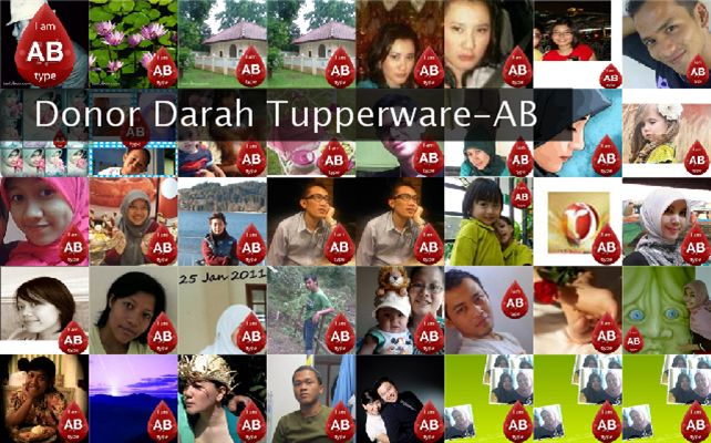 Donor Darah Tupperware-AB Twibute 50