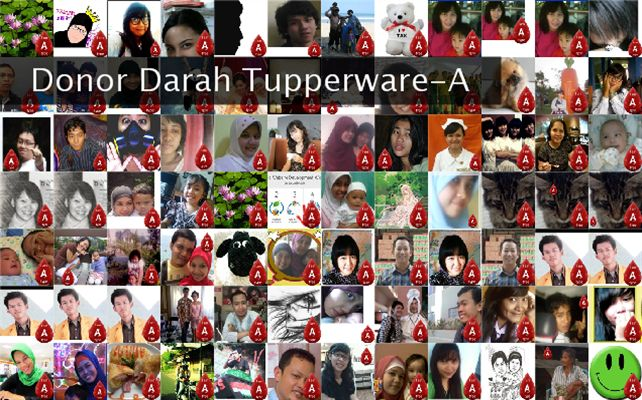Donor Darah Tupperware-A Twibute 100