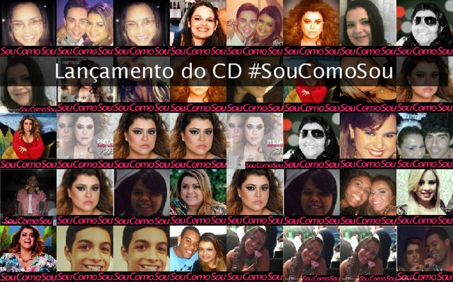 Lan&#231;amento do CD #SouComoSou Twibute 50