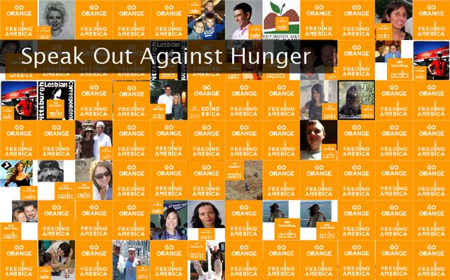 Speak Out Against Hunger Twibute 100