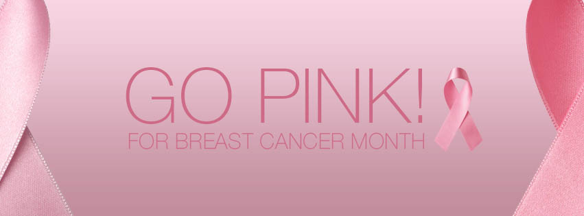 Go Pink Breast Cancer Month