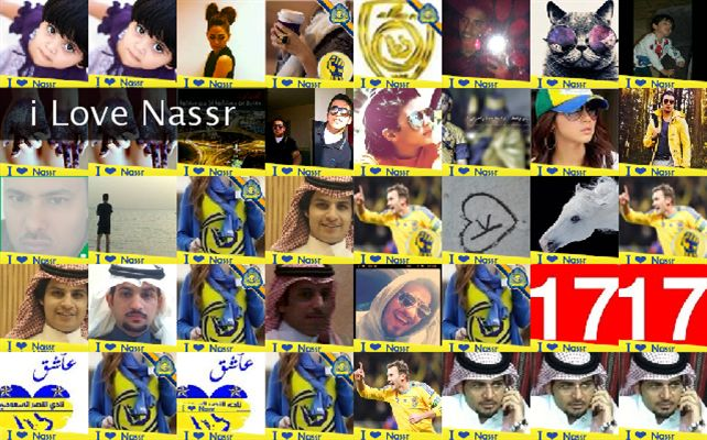 i Love Nassr Twibute 50