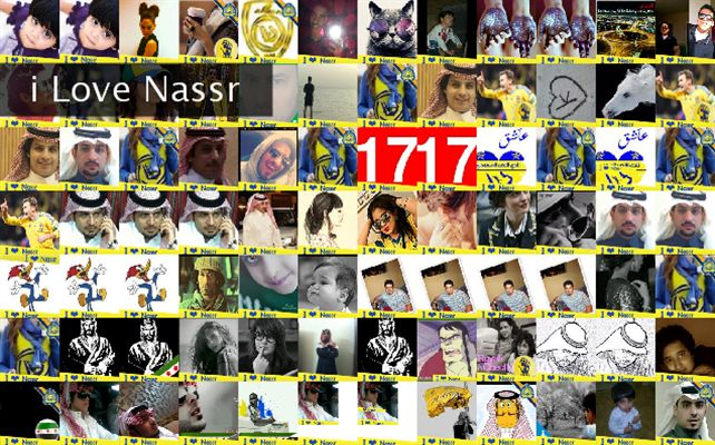 i Love Nassr Twibute 100