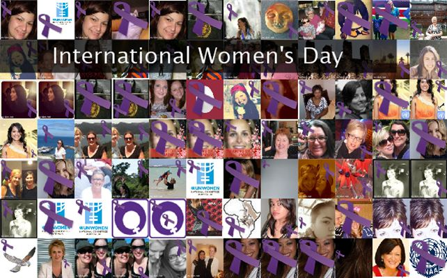 International Women's Day Twibute 100