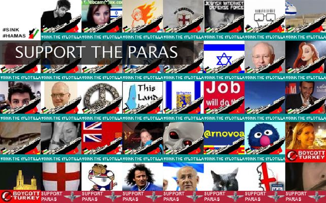 SUPPORT THE PARAS Twibute 500
