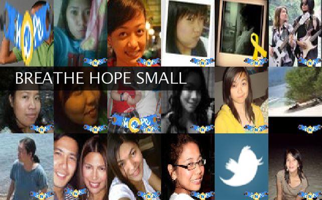 BREATHE HOPE SMALL Twibute 100