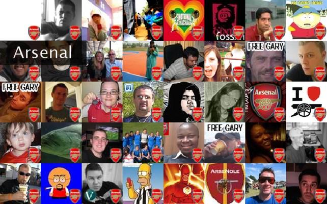 Arsenal Twibute 50