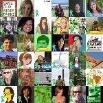 Green Ribbon - SOS Parks! Twibute 50
