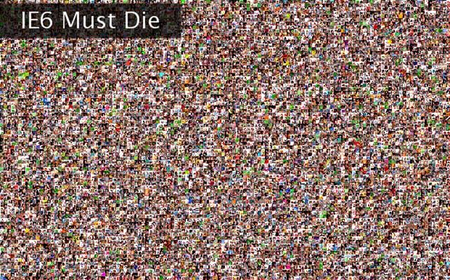 IE6 Must Die Twibute 10000