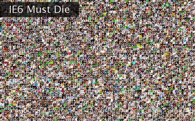 IE6 Must Die Twibute 5000