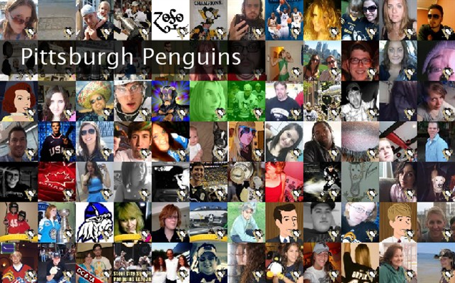 Pittsburgh Penguins Twibute 100