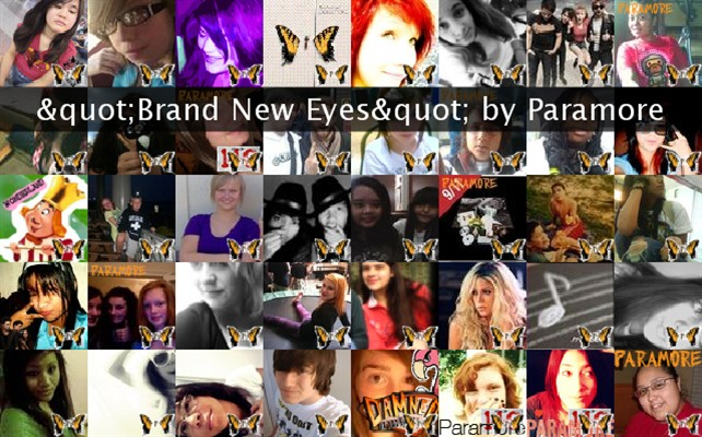 """Brand New Eyes"" by Paramore Twibute 50"