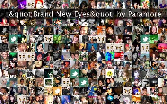 """""""Brand New Eyes"""" by Paramore Twibute 250"""