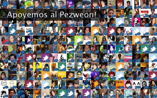Apoyemos al Pezweon! Twibute 250