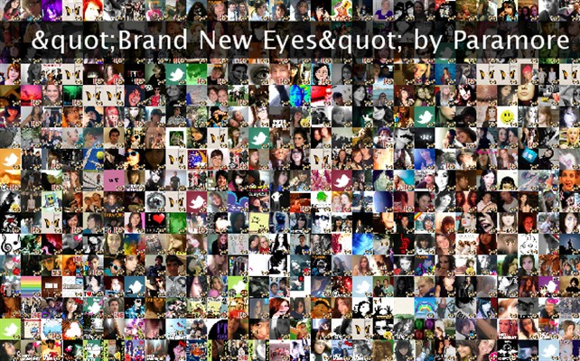 """""""Brand New Eyes"""" by Paramore Twibute 500"""